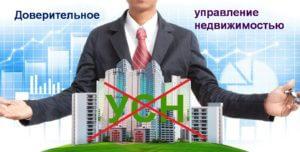Доверительное управление недвижимостью и УСН.