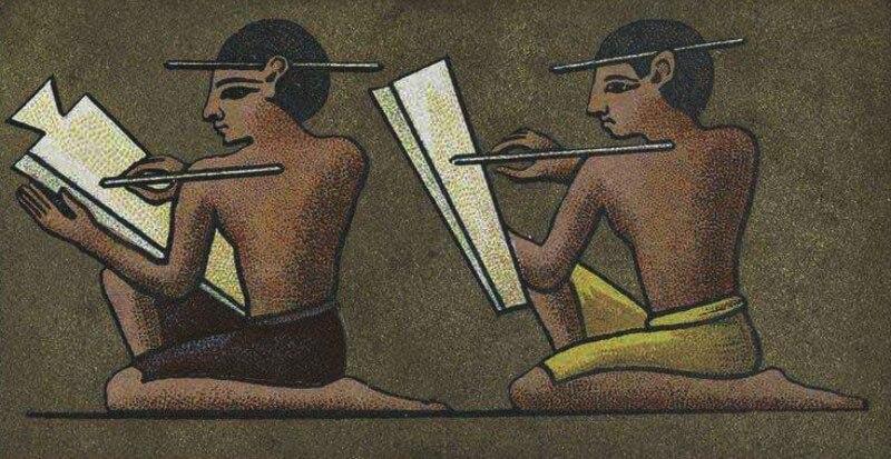 Бухгалтеры в Древнем Египте